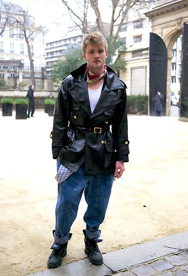 Total look vintage · Paris Streetstyle