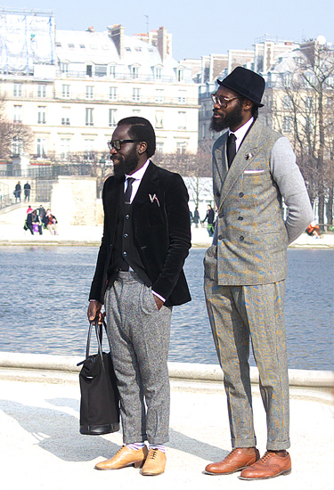 My favourite boys · Paris Streetstyle | Sam Lambert & Shaka Maidoh