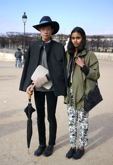A Kooples at Paris Fashion Week | Street Fashion Trends