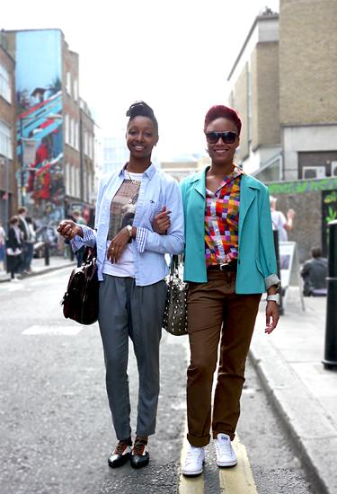 Lovely looks in London