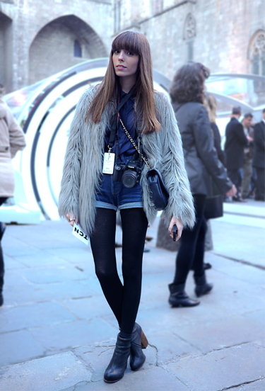 ANNA PONSA at 080 Barcelona Fashion | Streetstyle