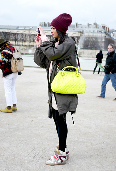 Another burgundy wool hat   Trends   Paris