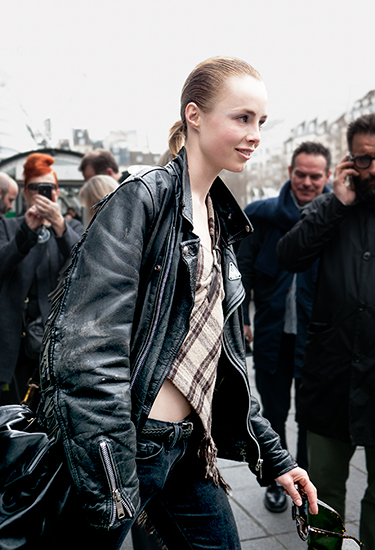 Edie Campbell | Model off duty