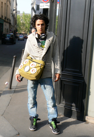 Diesel and East Pack · Paris Streetstyle