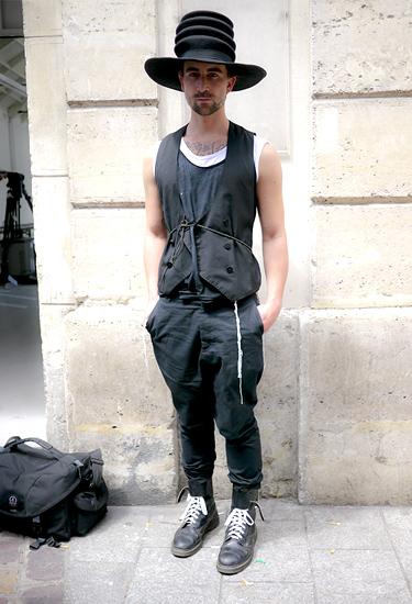 Charismatic Hat · Paris Fashion Week Streetstyle