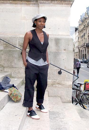 Garçonne · Paris Streetstyle