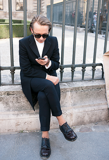 Laidback Suit Style