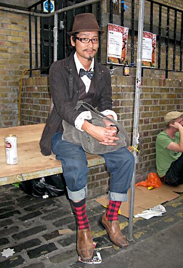 London streetstyle · Bricklane