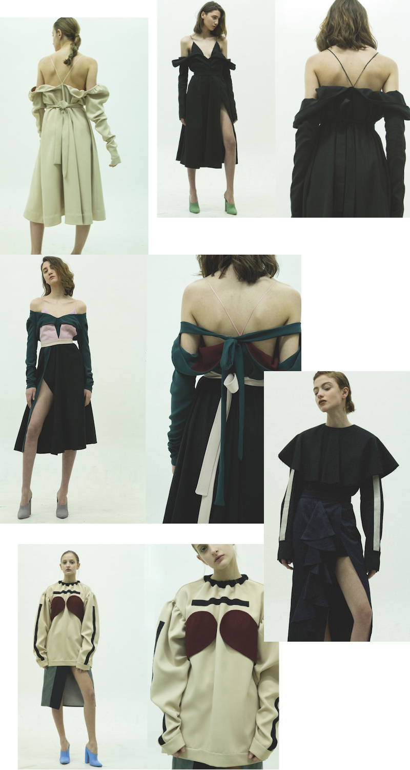 atelier kikala  fall winter 2016 2017 collage