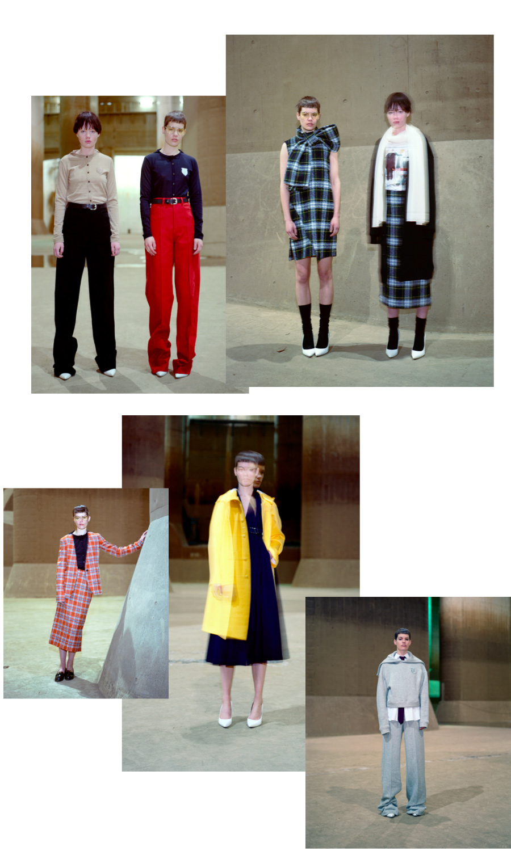 Taro Horiuchi prefall 16-17 collage