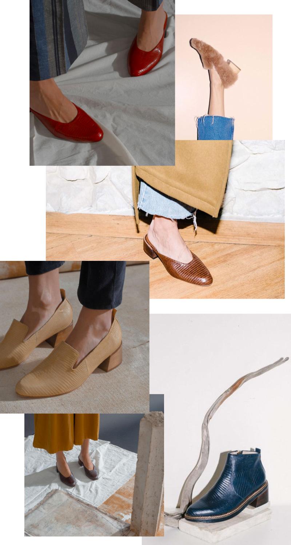 Mari Giudicelli Shoes fashion collage