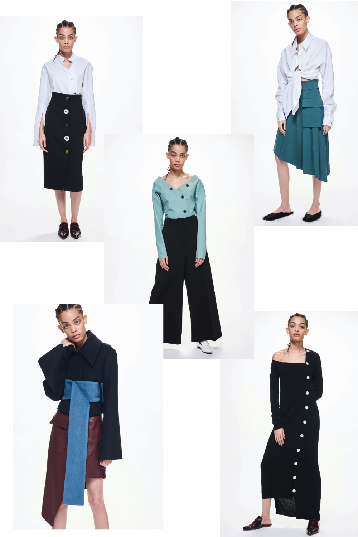 Ji Oh resort 2018 fashion collage by lelook