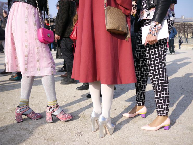 Paris Fashion Week Street Style | Fall 2013