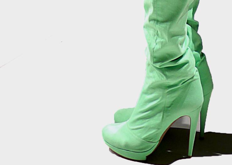 Green mint | Heels