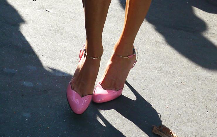 Pink Heels | Anna Dello Russo