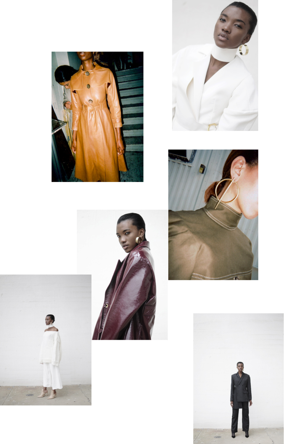 Jon millner collection spring summer 2017 fashion collage by lelook consultancy