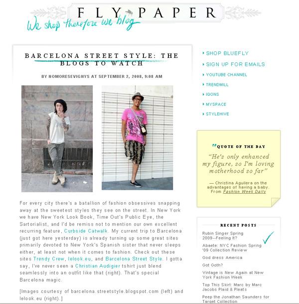 LeLook in FlyPaper