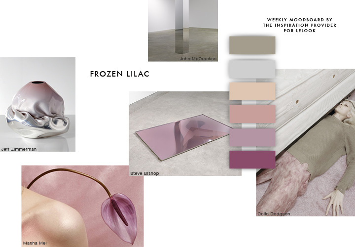 The Inspiration Provider Weekly Moodboard #2 FROZEN LILAC