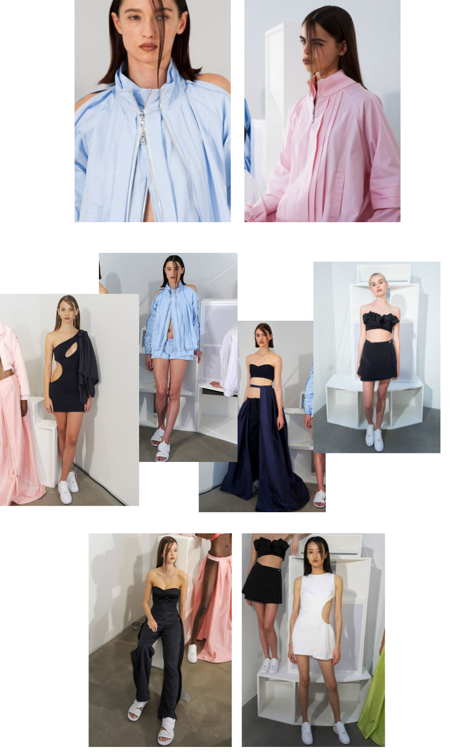 Caitlin Price SS16 collage