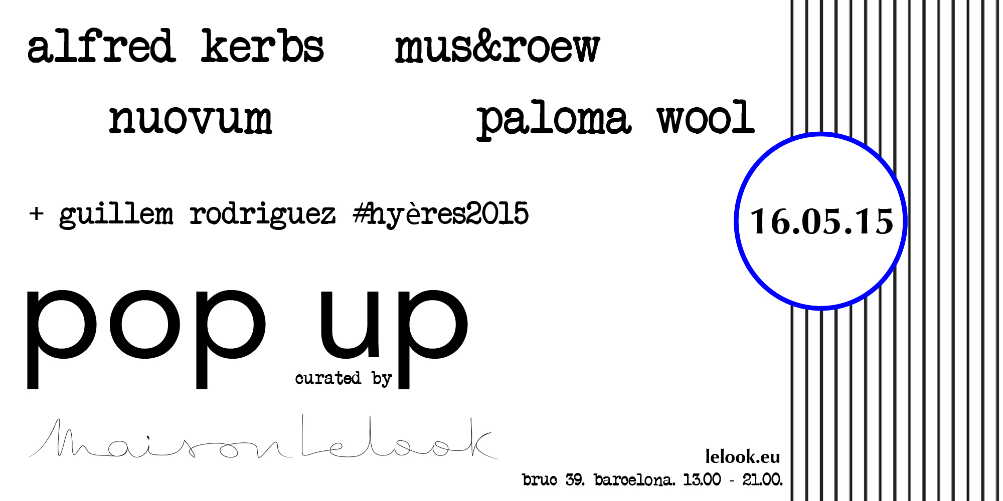 Pop Up curated by Lelook