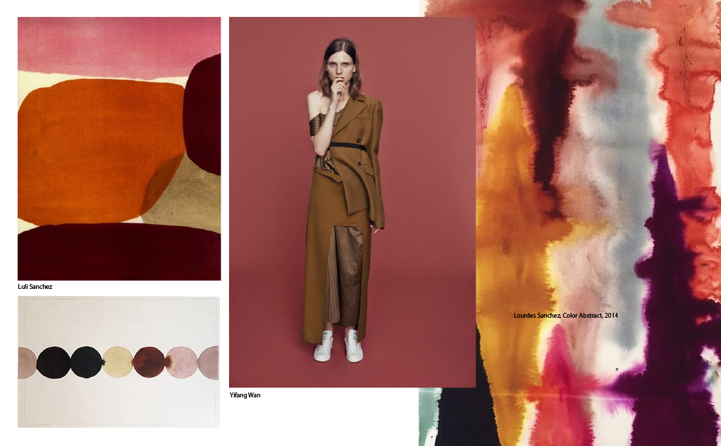 Moodboard, Rust and Wine
