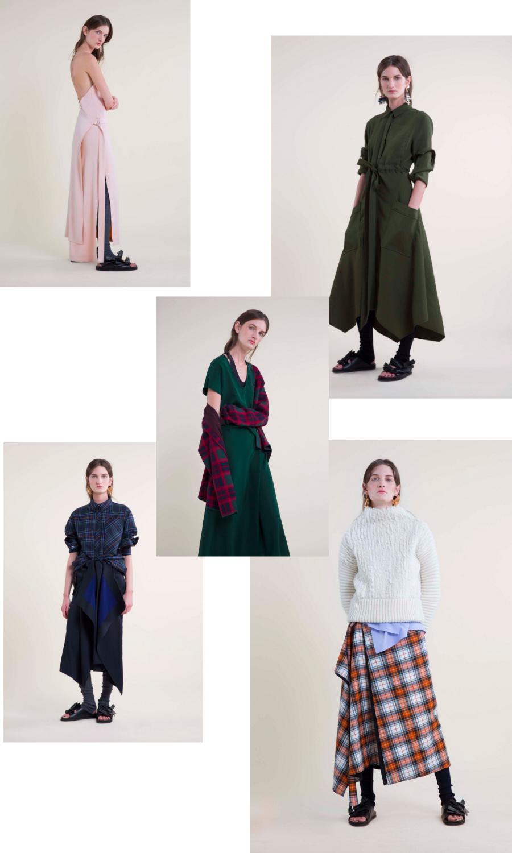 cedric charlier pre fall 2016 fashion show collage presentation