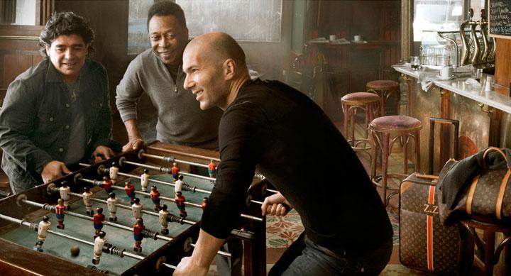 Zidane, Pelé, Maradona