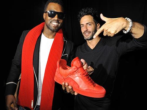 Kanye West + Marc Jacobs