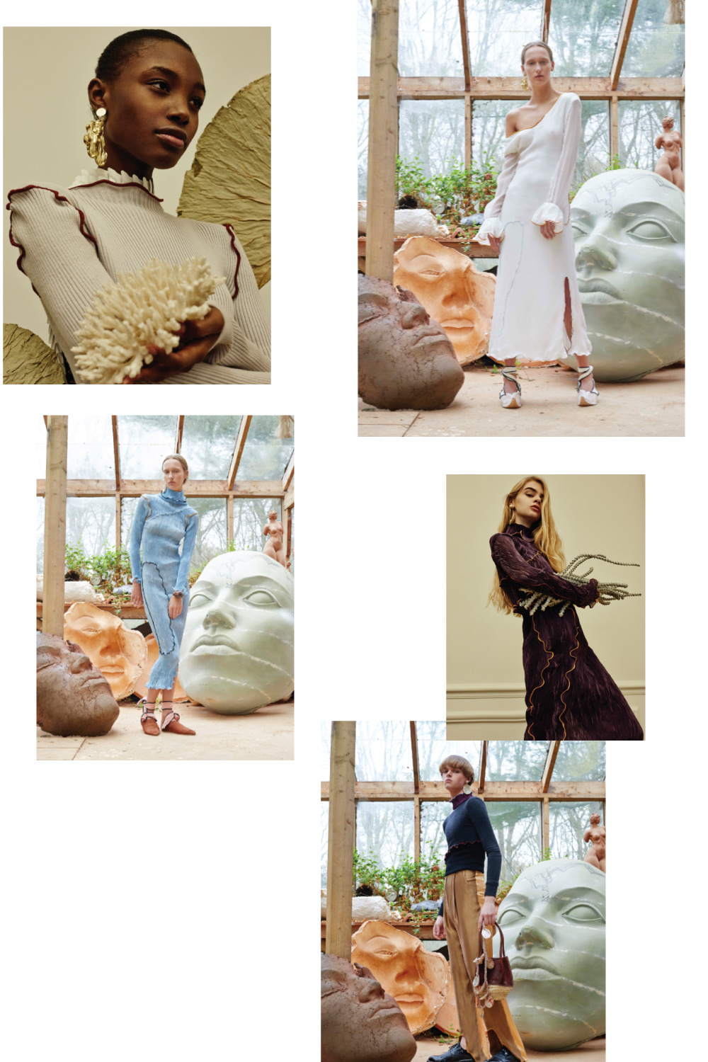 Peet Dullaert SS17 Fashion collage by lelook consultancy