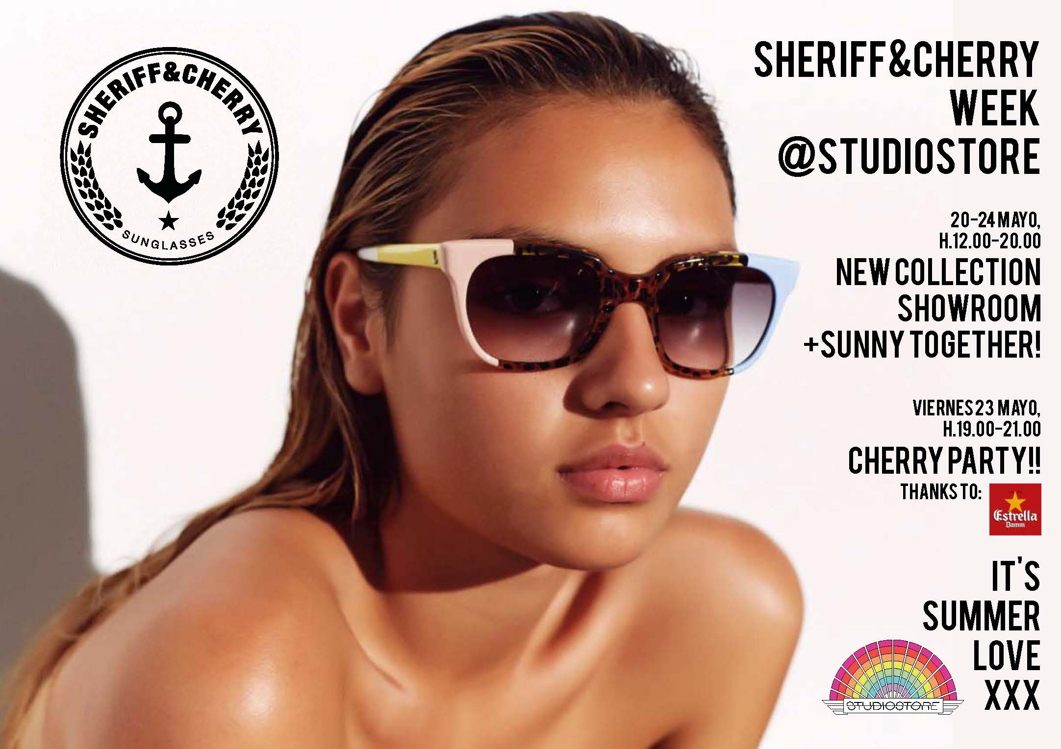 Sheriff & Cherry Showroom and Party