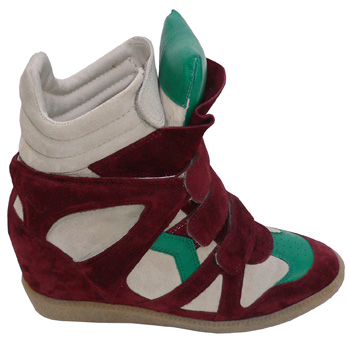 Isabel Marant SNEAKERS Green Bordeaux
