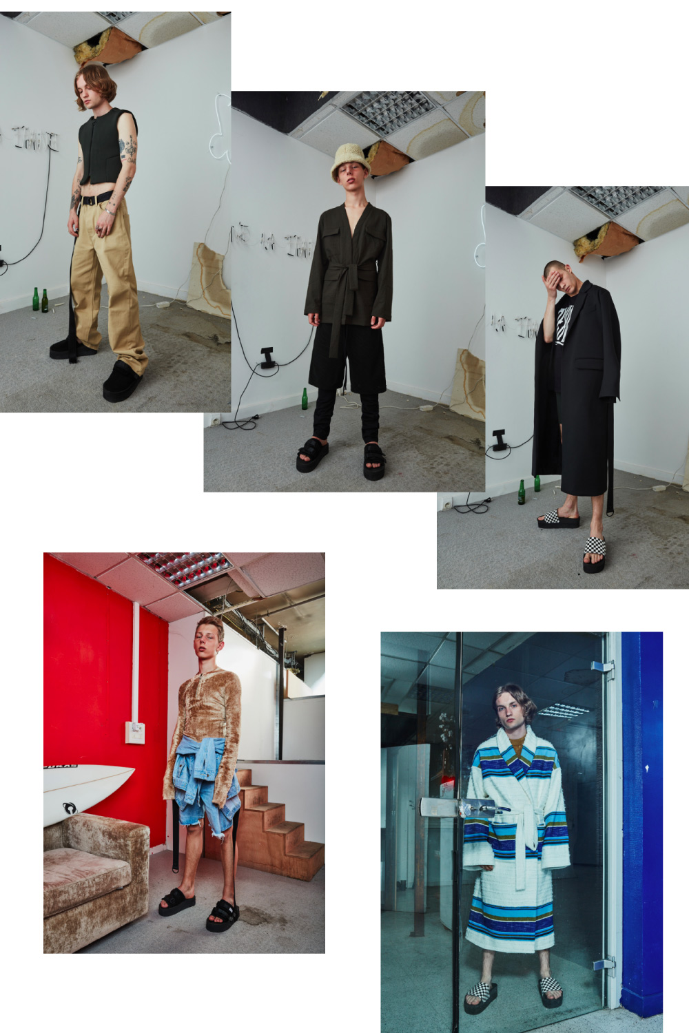 ex infinitas SS17 fashion collage by lelook