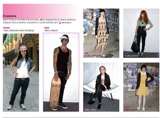 LeLook.eu en HMagazine 08/08