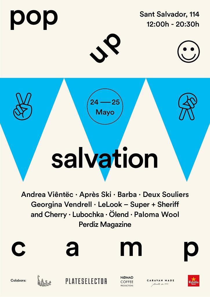 Salvation Camp Pop Up
