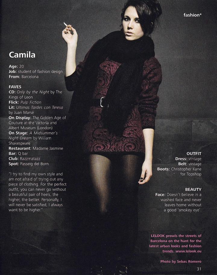 LELOOK y Camila en Miniguide Barcelona