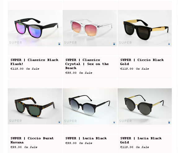 Super Sunglasses Special Sale by Lelook