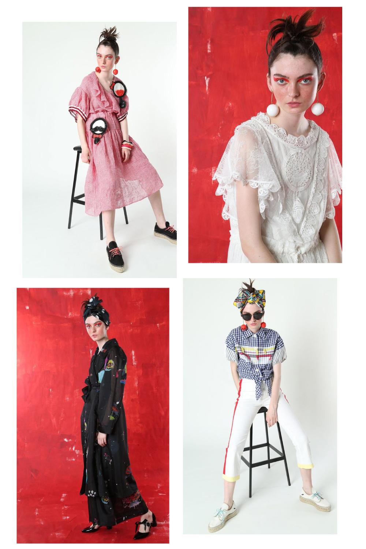 Tsumori Chisato Resort 2017 fashion collage by lelook