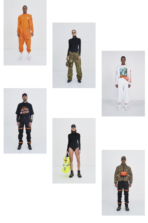 Heron Preston autumn winter 2017 fashion collage by lelook consultancy