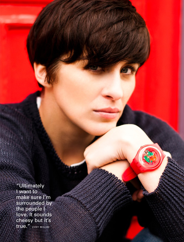 i-D | Swatch with a heart | Vicky McClure